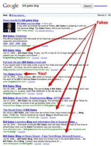 Как на счет нескольких SEO советов для блога Билла Гейтса?
