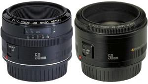 Обзор и сравнение Canon EF 50 mm f/1.8 mk I и Canon EF 50 mm f/1.8 mk II