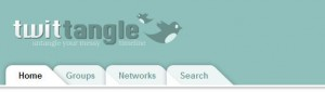twitTangle - Сортировка друзей и последователей с помощью групп