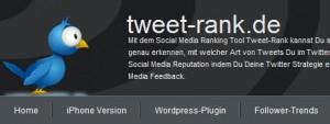 Tweet Rank – узнайте, какая из ваших заметок сделала вас популярным, а какая все испортила
