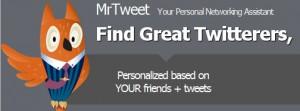 Mr.Tweet - находим друзей по интересам