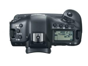 Canon EOS-1d X вид сверху