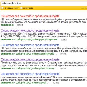 Одинаковые title страниц сайта в индексе Яндекса