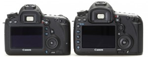 Canon EOS 6D и 5D mark III, вид сзади