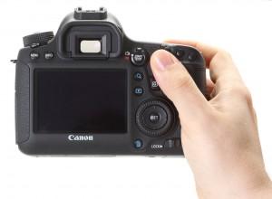 Canon 6D - Положение в руке, рис. 2