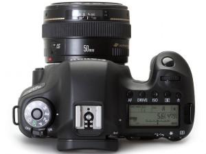 Canon 6D - Вид сверху
