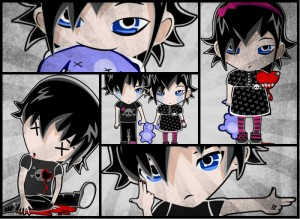 Персонажи EmoFans