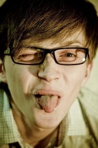 Не ссы - носи очки :)