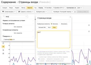 Использование регулярных выражений в Яндекс Метрике 2.0