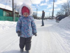 Зима. Бурятия. Кабанск 2016