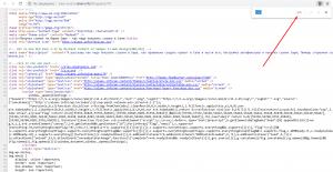 Ищем нужную ссылку в коде страницы