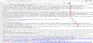 Снова в исходном коде ищем ссылку...и находим ее