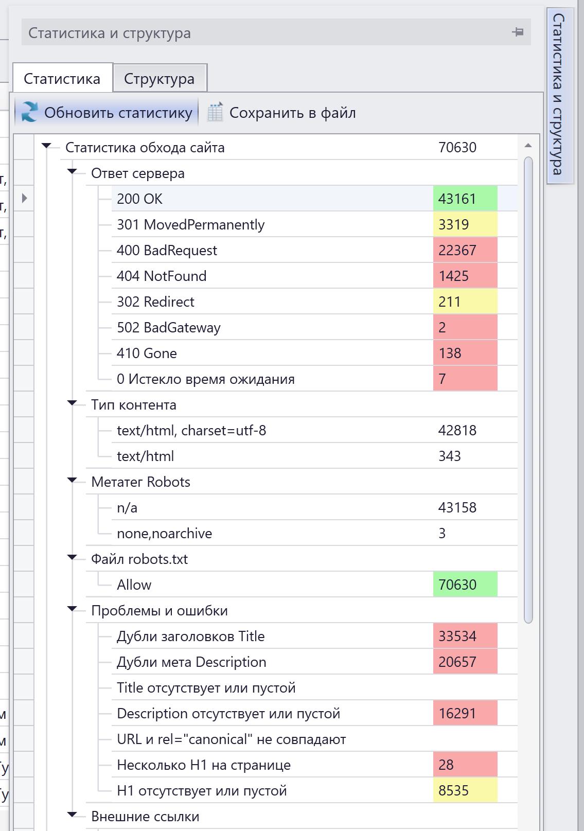 seo оптимизация новостного сайта