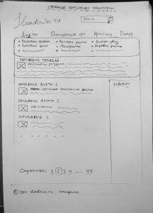 Прототип страницы категории