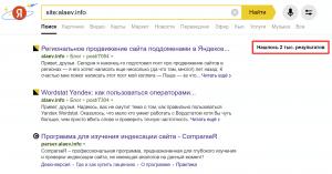 Как узнать количество страниц в индексе Яндекса для сайта и всех его поддоменов