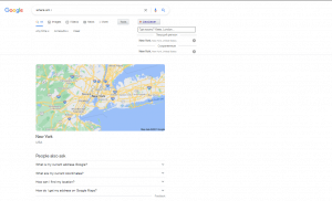 Расширение для Chrome Geo Clever Fixed