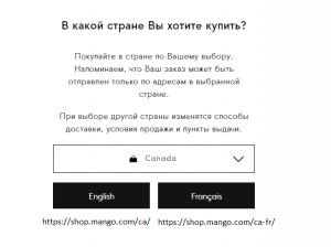 Можно назвать подпапку кодом страны. Пример интернет-магазина Mango