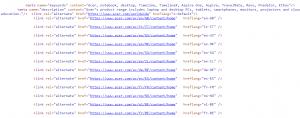 Страница по-умолчанию x-default и другие языковые версии