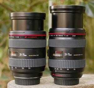 Canon EF 28-70 f/2.8L USM и Canon EF 24-70 f/2.8L USM на широком угле