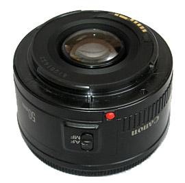 Пластмассовый байонет Canon EF 50mm f/1.8 II