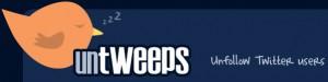 Untweeps - Удаление из списка людей, которые не обновлялись в течение Х дней