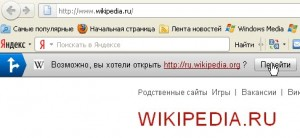 Исправление опечаток Яндекс.Баром