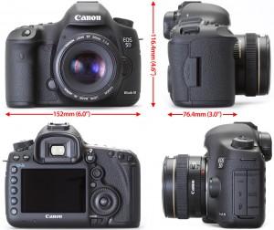 Дизайн камеры 5D Mark III