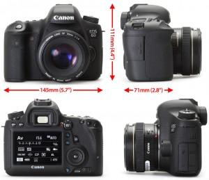 Дизайн камеры Canon 6D