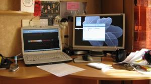 Мое рабочее место в 2008
