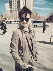 Катя, 21 апреля 2013. Екатеринбург