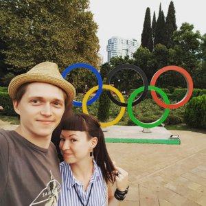 Олимпийские кольца, улица Навагинская