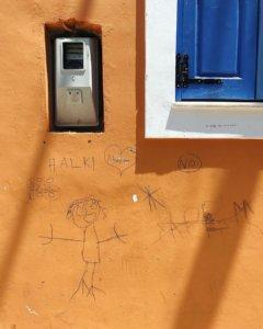 Искусство местных детей, видимо