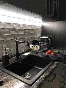 Кухня уже в эксплуатации